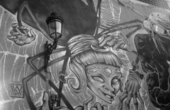 190906_VLC_018 (Stefano Sbaccanti) Tags: valencia spain spagna españa stefanosbaccanti minox35gl kentmere400 rondinax35e 2019 analogico analogue analogicait blackandwhite bianconero blancoynegro graffiti artecallejera