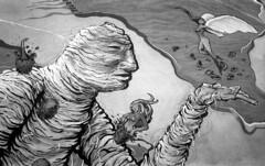 190906_VLC_015 (Stefano Sbaccanti) Tags: valencia spain spagna españa stefanosbaccanti minox35gl kentmere400 rondinax35e 2019 analogico analogue analogicait blackandwhite bianconero blancoynegro graffiti artecallejera