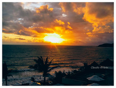 Fim-de-tarde / Sunset (Claudio Arriens) Tags: pôrdosol natal riograndedonorte sunset praia beach canonpowershotsx130is