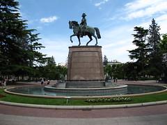 Logroño Plaza del Espolón monumento a Espartero (Rafa Gallegos) Tags: logroño larioja españa spain espartero estatua statue