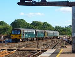 143618 Exeter St Davids (2) (Marky7890) Tags: gwr 143618 class143 pacer 2t24 exeterstdavids railway devon devonmainline train