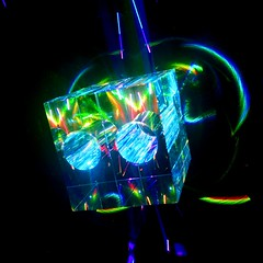 "IMAG5927~2 (LewDude) Tags: lasers lightart structuredlight vaporwaveart vaporwaveaesthetic outrun rad laserbeams refraction reflection photons spaceart tron vaporwave diffraction synthwave whoa homemade diy science diodes current optics orb physics vaporwaveart""""albumart""""opart""lasergeometricabstractabstract artabstract photography"" ""psychedelic"" trippy photography artist ""geometric art"" neon"