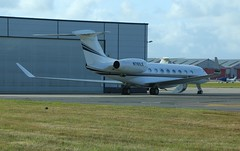 Gulfstream G650 N761LE (sparkie001uk) Tags: n761le g650 gulfstreamg650 norwichairport nwi