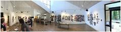 ATLANTA CELEBRATES PHOTOGRAPHY* | Abernathy Arts Center | Sandy Springs, Georgia (steveartist) Tags: panorama snapseed iphonese photostevefrenkel abernathyartscenter sandysprings georgia acp atlantacelebratesphotography september2019 exhibitionspace people pinupshow photographs galleryspace interiors