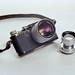 Leica II (1931) with 50/1.4 Summilux LTM and Summitar (1950)