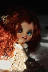 Sleepy (Juju DollPassion) Tags: fc custo fullcustom doll cute freckles redhair gingerhair blue eyes blythe