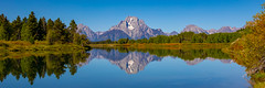 More Reflections of Grand Tetons (Mike DeStefano) Tags: wyoming water lake reflection mountains grandtetons nationalpark