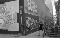 190906_VLC_009 (Stefano Sbaccanti) Tags: valencia spain spagna españa stefanosbaccanti minox35gl kentmere400 rondinax35e 2019 analogico analogue analogicait blackandwhite bianconero blancoynegro graffiti artecallejera