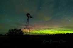 Evening Serenade (Beve Brown-Clark) Tags: aurora auroraborealis nighttime nightsky northernlights nature landscape ©bevebrownclark washington usa