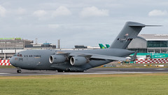 01-0188 USAF United States Air Force Boeing C-17A Globemaster III Stewart Air National Guard  EIDW 6-9-19 (Conor O'Flaherty) Tags: usaf mike pence dublinairport eidw dublin ireland plane cargo aviation visit jet canon