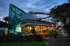 Wake Park Evening II (henriksundholm.com) Tags: city urban park eastcoastpark wakepark building architecture dusk pond hdr singapore southeast asia
