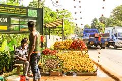Street fruit stall, Sri Lanka