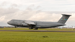 87-0036 USAF United States Air Force Lockheed C-5M Super Galaxy (L-500) EIDW 2_ (Conor O'Flaherty) Tags: usaf mike pence dublinairport eidw dublin ireland plane cargo aviation visit jet canon