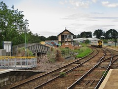Hoveton & Wroxham Railway Station, Norfolk, England. (vagrantpunk) Tags: aaaa