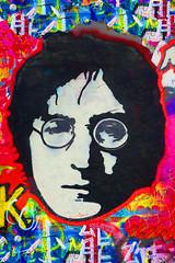 Tribute to John Lennon Prag (Marco Braun) Tags: lennon prag john peace friedenpaix pax imagine freedom freiheit slovakischerepublik bunt farbig couleures streetart urbanart graffiti beatles