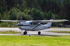 D-EGGO (Kristoffer K R) Tags: fly aviation airplane cessna enbm bømoen voss skydive deggo u206 turboprop