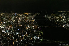 Airplane window from SDJ to ITM 2019.8.25 (5) (double-h) Tags: d5 afsnikkor1635mmf4gedvr airplanewindow airplaneview airview windowseat jal jl2214 airplane travel nightscape cityscpae osaka umeda osakacastle castle osakajo yodogawa yodoriver yogogawariver river 大阪 梅田 大阪城 淀川 夜景 機窓 飛行機 旅