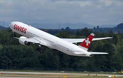 HB-JNI - 8/13/19 (jrf_aviation) Tags: aviationphotography switzerland lszh boeing boeing777 boeing777300 boeing777300er boeing773 boeing773er b777 b777300 b777300er b773 b773er 777 777300 777300er 773 773er swiss swissinternationalairlines swissinternational airliner