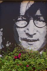 Tribute to John Lennon Prag (Marco Braun) Tags: lennon prag john peace friedenpaix pax imagine freedom freiheit slovakischerepublik black white weiss schwarz noire blanche streetart urbanart graffiti beatles
