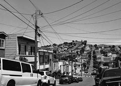 Ellsworth Street, San Francisco (Postcards from San Francisco) Tags: m2 konicauchexanon35mmf2 jchstreetpan400 rodinal film analog sanfrancisco