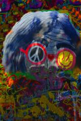 Tribute to John Lennon Prag (John LENNON WALL) (Marco Braun) Tags: lennon prag john peace friedenpaix pax imagine freedom freiheit slovakischerepublik colourful coloured bunt couleuresstreetart urbanart graffiti signe