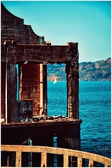 A room with a view (cjhall.nz) Tags: telephoto tamron70200 eosr canon afternoon summer yacht harbour sailing ruins travel usa america california sanfrancisco prison jail therock alcatraz