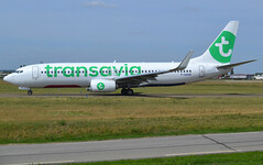 F-GZHR, Boeing 737-8K2(WL), 43913 / 5469, TO-TVF-France Soleil-Transavia France, ORY/LFPO 2019-08-21, on taxiway W47. (alaindurandpatrick) Tags: 439135469 fgzhr 7378k2wl boeing7378k2wl 737 737800 738 737nextgen boeing boeing737 boeing737800 boeing737nextgen jetliners airliners airlines to tvf transavia transaviafrance francesoleil ory lfpo parisorly airports aviationphotography