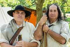 The Long Hunters (Jim Frazier) Tags: 2019 2019090708cantignyrevwar 2019cantigny american bandshellarea camp cantigny cantignypark couple diagonals dupage dupagecounty encampment eyecontact fall group groupportrait hat historic history il illinois isolationofsubject jimfraziercom loadcode201909 longhunters military muskets northwestterritoryalliance nwta parks people portrait portraits portraiture posed posing q4 reenacting reenactment reenactments reenactors revolution revolutionarywar september sizeover1000 soldier subjectseparation summer sunny tightcrop triangles two uniform war warfare warrior weapons wheaton jfpblog f10