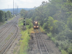 Y&S 050 (Fan-T) Tags: struthers ohio ys youngstown southern railroad shortline gp18 18
