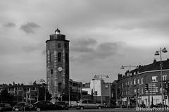 La tour du Leughenaer (hobbyphoto18) Tags: monumenthistorique tourduleughenaer tourdumenteur architecture dunkerque nordpasdecalais hautsdefrance france noiretblanc nb blackandwhite blacknwhite bw outside extérieur pentaxk50 pentax k50