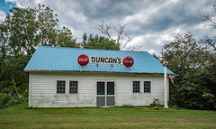 Duncan's Store (Bob G. Bell) Tags: store countrystore cocacola advertising clouds craig bobbell va nikon d750