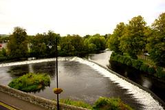 Castle River (richardschoonewolff) Tags: castle river ireland village view countryside green stream
