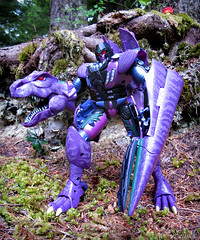 Megatron_MP43_Outdoor (Vexwing) Tags: transformers megatron masterpiece beast wars mp mp43 takara takaratomy predacon beastwars