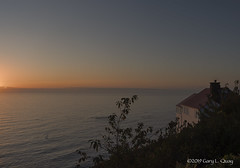 Cape Foulweather in Fair Weather (Gary L. Quay) Tags: capefoulweather summer fairweather sunset color oregon oregoncoast ocean evening dusk water sea seaside coast pacificnorthwest