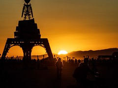 Sunrise from The Man, Burning Man, 2019 (kate beale) Tags: blackrockdesert highdesert nevada sunrise playa brc blackrockcity brc2019 burningman2019 burningmansunrise