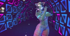 Cyber Pink (likethewaves) Tags: sl secondlife cyberpunk cyber punk future futuristic futurism alien astronaut timetravel timetraveler pink holo pinks blue blues purple purples teal teals bilighting bicolor holographic helmet space glow glowy glowies outerspace outer cooltones cool intergalactic fashion fashions fashionable style styling stylist stylish stylin photo photograph photography photographer virtualreality virtual vr 3d thicc