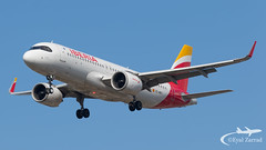 "LHR - Iberia A320Neo EC-MXY ""Getafe"" (Eyal Zarrad) Tags: a320neo ecmxy egll iberia londonheathrow aircraft airport aviation airline airlines aeroplane avion eyal zarrad airplane spotting avgeek spotter airliner airliners dslr flughafen planespotting plane transportation transport photography aeropuerto 2019 canon 7d mk2 jet jetliner lhr uk england london heathrow bedfont myrtle avenue eastchurch 27r 27l landing"
