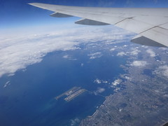 Flying back to Tokyo (Phreddie) Tags: fly wings aircraft airplane view sky high shanghai