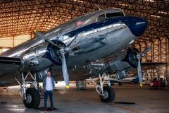 Douglas DC3 : Coventry : EGBE : UK (Benjamin Ballande) Tags: bac jet provost coventry egbe uk douglas dc3