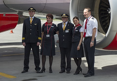 Czech Airlines Crew (Osdu) Tags: csa crew czechairlines people
