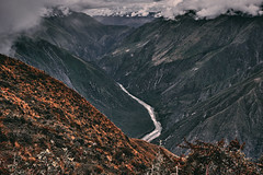 River (Sony J Thomas) Tags: landscape river peru andes mountain arial