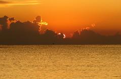 IMG_0022x (gzammarchi) Tags: italia paesaggio natura mare ravenna lidoadriano alba sole riflesso nuvola monocrome