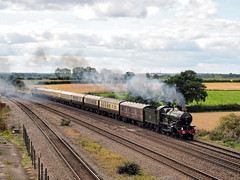 7029 1Z18 Bolton Percy 07-09-19 (Robin Patrick's Trains) Tags: 7029 clun castle the white rose bolton percy vintage trains