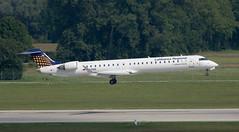 CRJ900 | D-ACNQ | MUC | 20190823 (Wally.H) Tags: bombardier canadair regionaljet crj crj900 crj9 dacnq lufthansaregional lufthansacityline muc eddm münchen airport