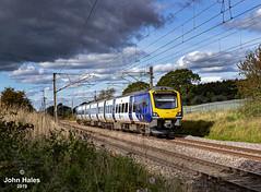 195119 at Garstang on 07 Sep 19 (John_Hales) Tags: preston rail railway train trains networkrail lancashire northern class195 railroad station caf brock lancaster