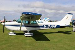 G-BJDW (GH@BHD) Tags: gbjdw cessna cessna172 f172m skyhawk laarally2019 laarally laa sywellairfield sywell aircraft aviation