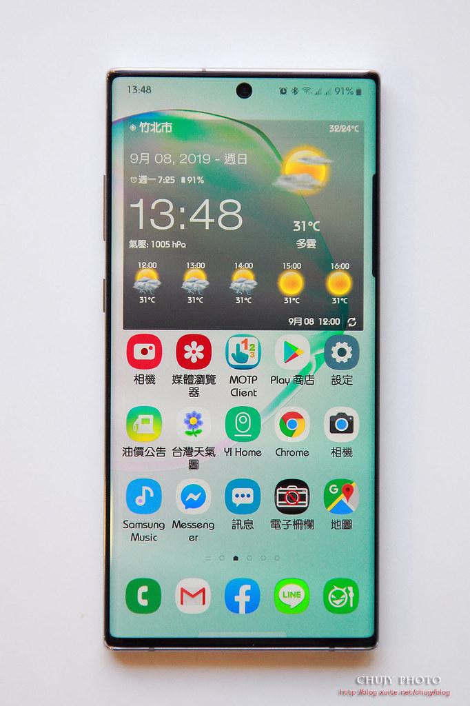 (chujy) Samsung Note10+ 開箱,傑出的一手 - 30