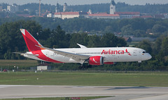 B787 | N783AV | MUC | 20190824 (Wally.H) Tags: boeing 787 boeing787 b787 n783av avianca muc eddm münchen airport