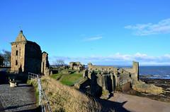 Castle sands (Valantis Antoniades) Tags: st andrews castle ruins decay architecture history scotland