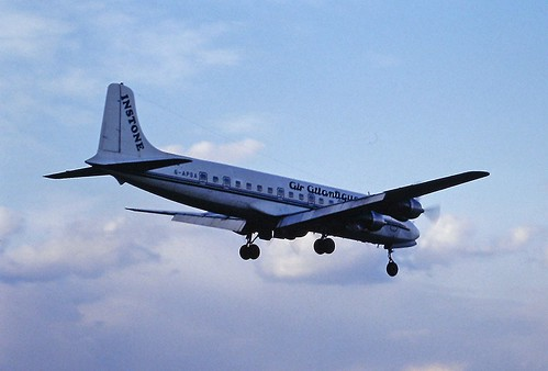 G-APSA DC6 Air Atlantique Coventry March 1995